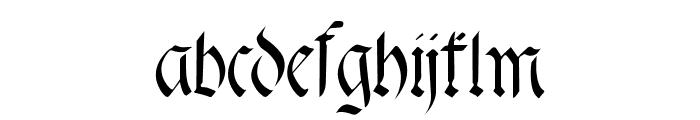 fracta Font LOWERCASE
