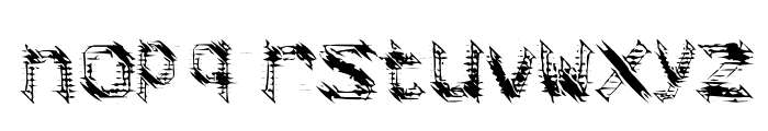 frag Font LOWERCASE