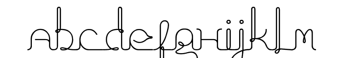 fragments_of_eter Font LOWERCASE