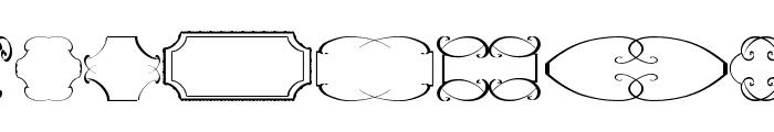 frames tfb Font LOWERCASE