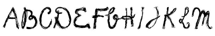 frank-handwriting_free-version Font UPPERCASE