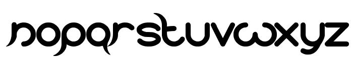 frankenstein monster Font LOWERCASE