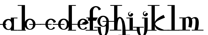 freeble Font LOWERCASE