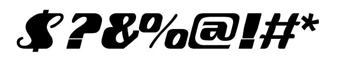 fretine Font OTHER CHARS