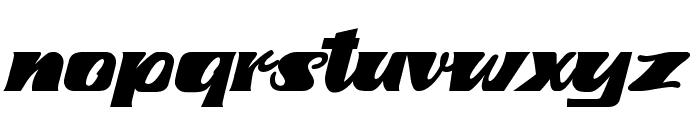 fretine Font LOWERCASE