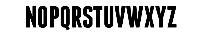 Franchise Bold Font UPPERCASE
