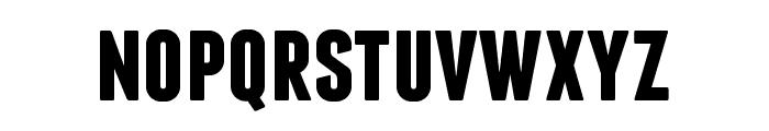 Franchise Bold Font LOWERCASE