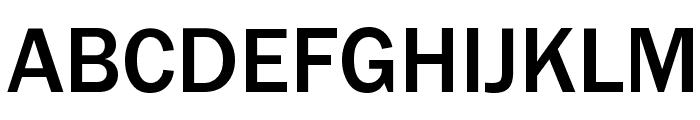 Franklin Gothic Medium Font UPPERCASE