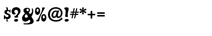 Fraggle Regular Font OTHER CHARS