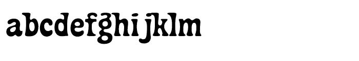 Fraggle Regular Font LOWERCASE