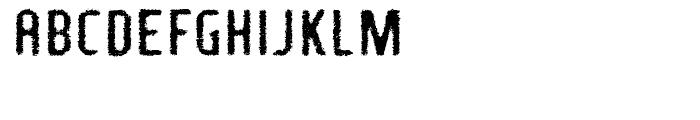 Fragile Bombers Down Font UPPERCASE