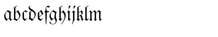 Fraktur Regular Font LOWERCASE
