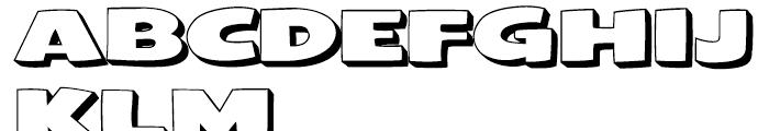 Framistat Open Font UPPERCASE