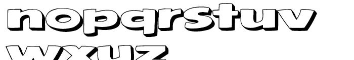 Framistat Open Font LOWERCASE