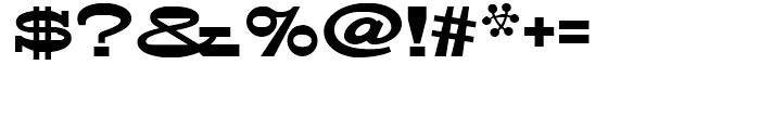 FranTique NF Regular Font OTHER CHARS