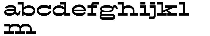 FranTique NF Regular Font LOWERCASE