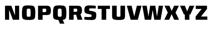 Francker Cyrillic Condensed Extra Bold Font UPPERCASE