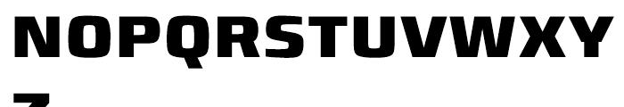 Francker Cyrillic Extra Bold Font UPPERCASE