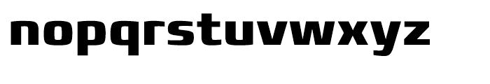 Francker Cyrillic Extra Bold Font LOWERCASE
