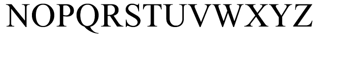 Frank Ruhl 1924 Font UPPERCASE