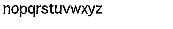 Franklin Gothic Hand Light Font LOWERCASE