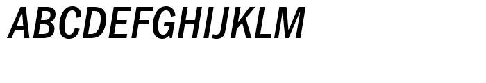 Franklin Gothic Medium Condensed Italic Font