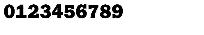 Franklin Gothic Raw Semi Serif Heavy Font OTHER CHARS