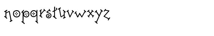 Freaky Frog BF Regular Font LOWERCASE