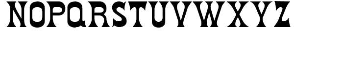 Fredericksburg NF Regular Font UPPERCASE