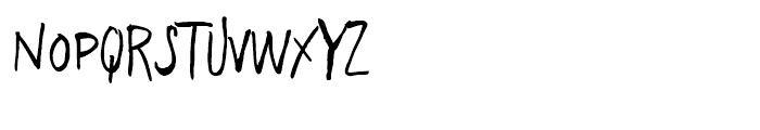 Freehand Brush Blockletter Regular Font UPPERCASE