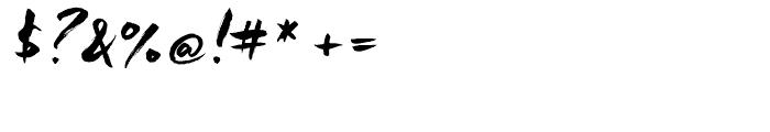 Freeland Regular Font OTHER CHARS