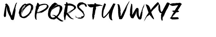 Freeland Regular Font UPPERCASE