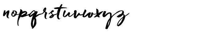 Freeland Regular Font LOWERCASE
