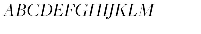 Freight Big Pro Book Italic Font UPPERCASE