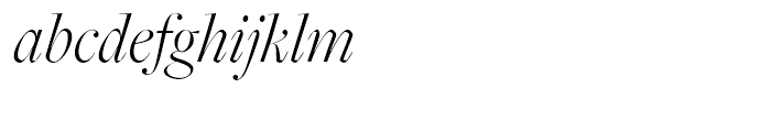 Freight Big Pro Light Italic Font LOWERCASE