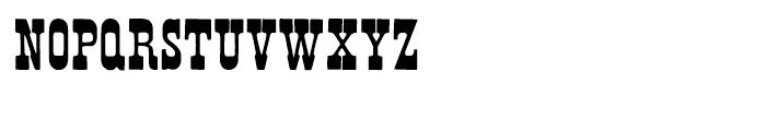 French Clarendon N2 Regular Font UPPERCASE