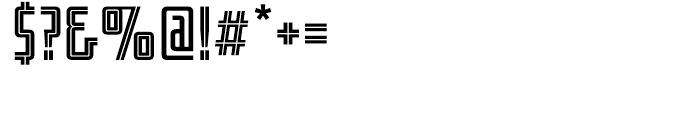 Fresno Regular Font OTHER CHARS