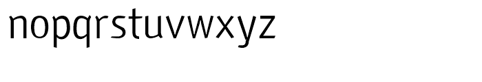 Fria Regular Font LOWERCASE