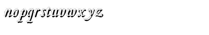 Fridha Shadow Font LOWERCASE