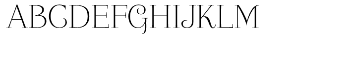 Friendly Roman Font UPPERCASE