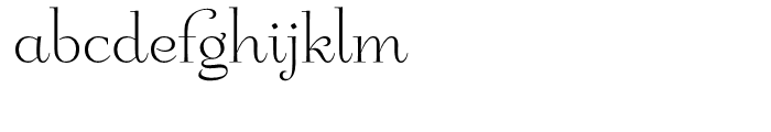Friendly Roman Font LOWERCASE
