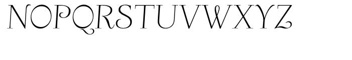Friendly Slanted Font UPPERCASE