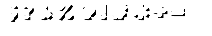 Frontage Shadow Font OTHER CHARS