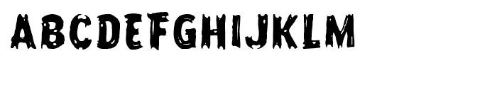 Frontline Regular Font UPPERCASE