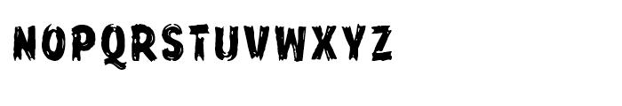 Frontline Regular Font LOWERCASE