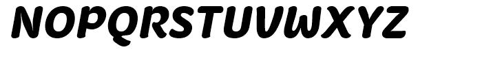 Fruitygreen Black Italic Font UPPERCASE