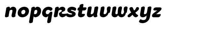 Fruitygreen Black Italic Font LOWERCASE