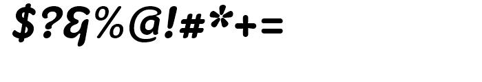 Fruitygreen Bold Italic Font OTHER CHARS