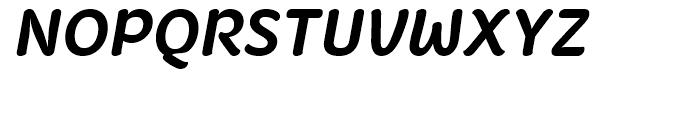 Fruitygreen Bold Italic Font UPPERCASE