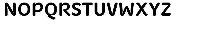 Fruitygreen Bold Font UPPERCASE